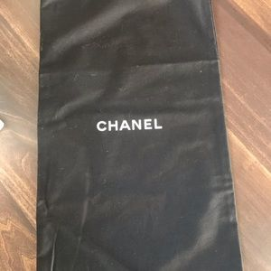 Chanel dust bag authentic LARGE